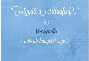 Zenés áhítat - a Vocapella adventi hangversenye